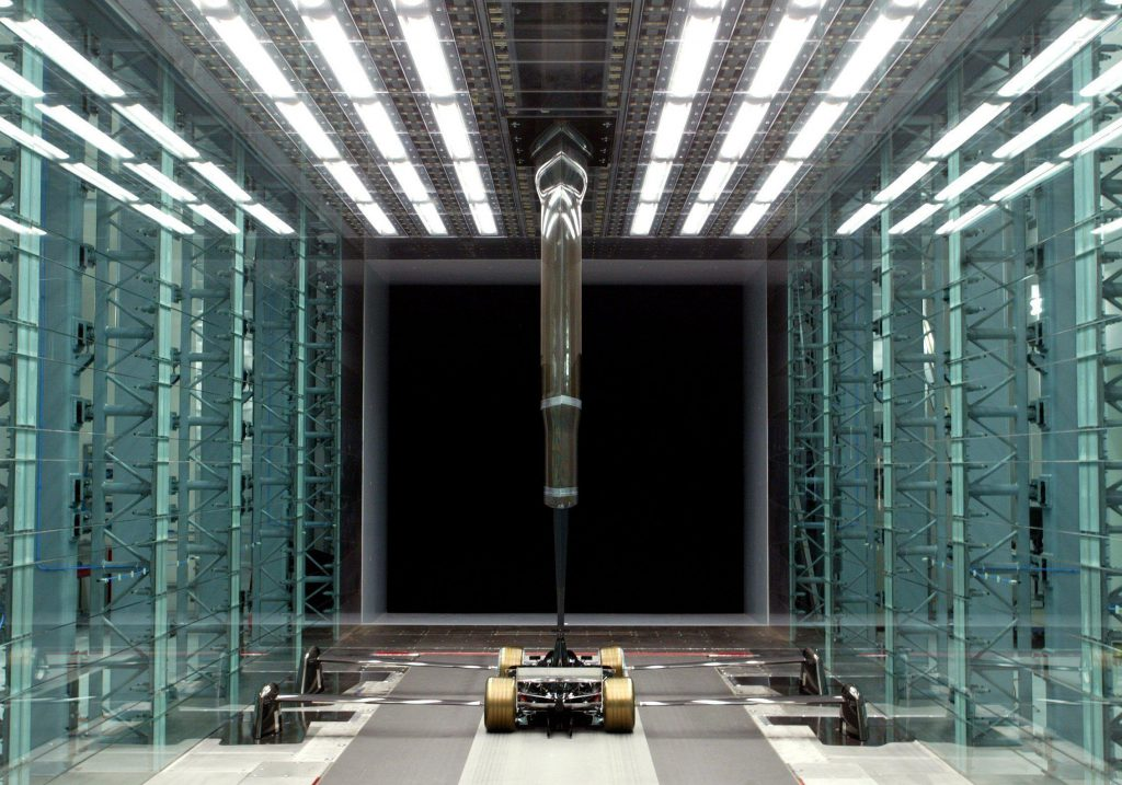 foruma 1 wind tunnel